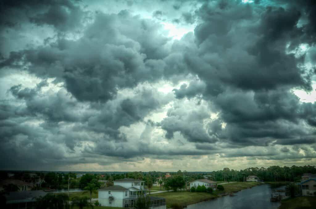 Storm över Florida